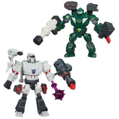 Kit-Bonecos-Transformers-Hero-Mashers-Megatron-Bulkhead-Hasbro