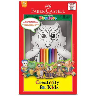 7891360629252-Corujinha-Divertida-Creativity-For-Kids-Faber-Castell