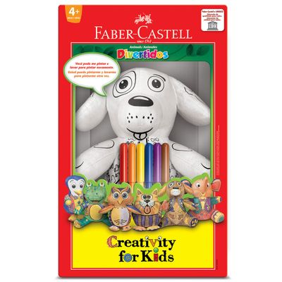 7891360629245-Cachorrinho-Divertido-Creativity-For-Kids-Faber-Castell
