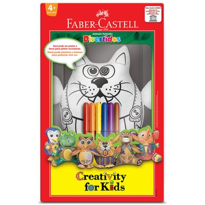 7891360629238-Gatinho-Divertido-Creativity-For-Kids-Faber-Castell