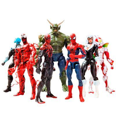 Kit-Colecionavel-Boneco-Homem-Aranha-Infinite-Legends-15-cm---Compre-6-e-Monte-o-7-Boneco