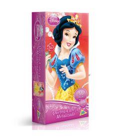 2089---Princesa---Qc-200-pecas-metalizado---Branca-de-Neve---Embalagem