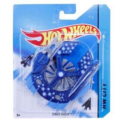 Avião Hot Wheels - Strato Saucer - Mattel