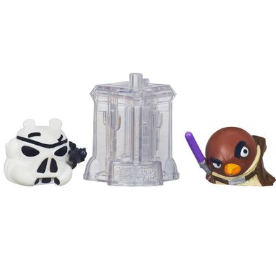 Telepods Angry Birds Star Wars -Mestre Windu e Stormtroopers - Hasbro