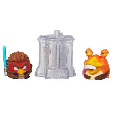 Telepods Angry Birds Star Wars - Anakin Skywalker Padawan e Jar Jar Binks - Hasbro