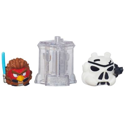 Telepods Angry Birds Star Wars - Anakin Skywalker Padawan e Stormtroopers - Hasbro