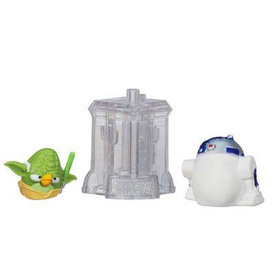 Telepods Angry Birds Star Wars - Mestre Yoda e R2D2 - Hasbro