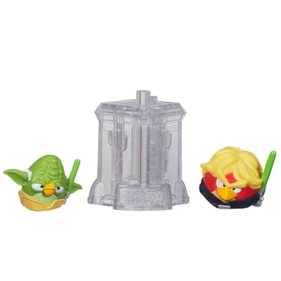 Telepods Angry Birds Star Wars - Mestre Yoda e Luke Skywalker - Hasbro