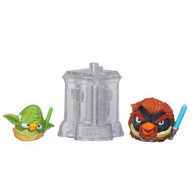 Telepods Angry Birds Star Wars - Mestre Yoda e Obi Wan Kenobi - Hasbro
