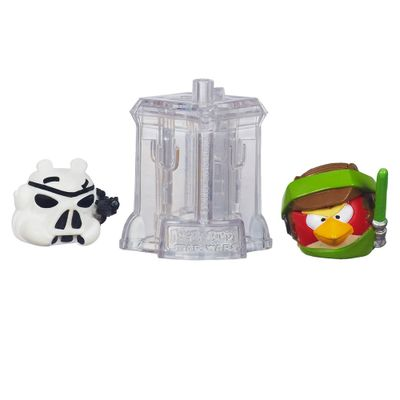 Telepods Angry Birds Star Wars - Luke Skywalker Endor e Stormtroopers - Hasbro