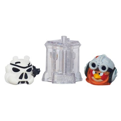Telepods Angry Birds Star Wars - Anakin Skywalker Podracer e Stormtrooper - Hasbro