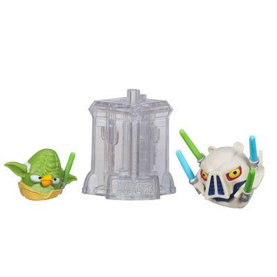 Telepods Angry Birds Star Wars - Mestre Yoda e General Grievous - Hasbro