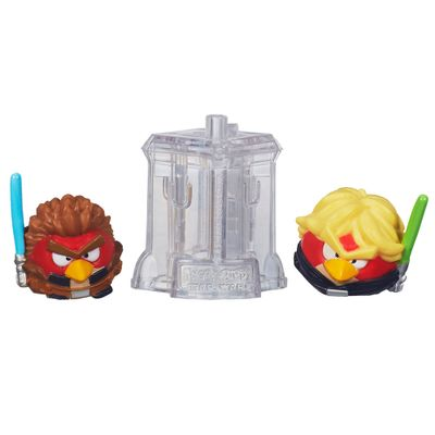 Telepods Angry Birds Star Wars - Luke Skywalker e Anakin Padawan - Hasbro
