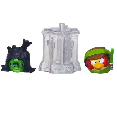 Telepods Angry Birds Star Wars - Luke Skywalker Endor e Senador Palpatine - Hasbro