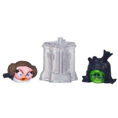 Telepods Angry Birds Star Wars - Princesa Leia e Senador Palpatine - Hasbro