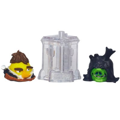 Telepods Angry Birds Star Wars - Han Solo e Senador Palpatine - Hasbro