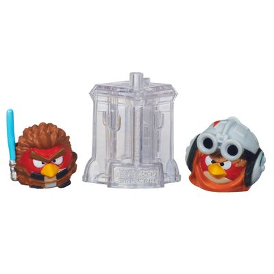 Telepods Angry Birds Star Wars - Anakin Skywalker Padawan e Anakin Skywalker Podracer - Hasbro