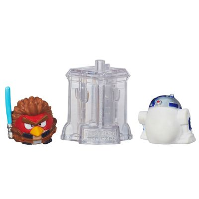 Telepods Angry Birds Star Wars - Anakin Skywalker Jedi e R2D2 - Hasbro