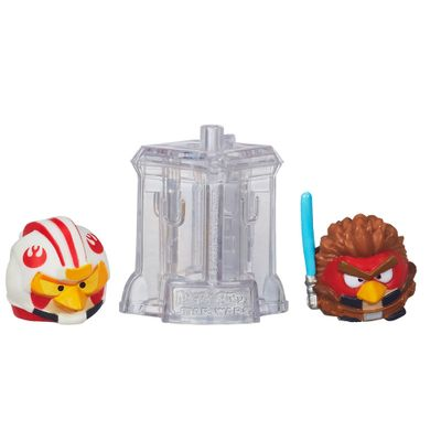 Telepods Angry Birds Star Wars - Luke Skywalker Piloto X-Wing e Anakin Skywalker Padawan - Hasbro