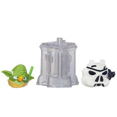 Telepods Angry Birds Star Wars - Mestre Yoda e Stormtrooper - Hasbro