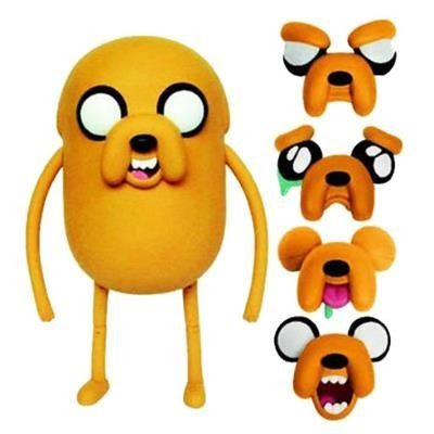 Boneco Adventure Time Deluxe - Jake Troca Faces - 25 cm - Multikids