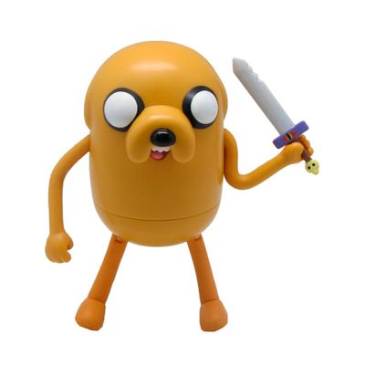 Boneco Adventure Time - Jake com Espada 13 cm - Multikids