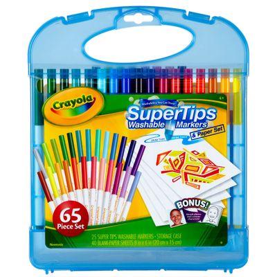 04-5226-Maleta-Canetinhas-Lavaveis-Super-Tips-Washable-Markers-25-Cores-Crayola