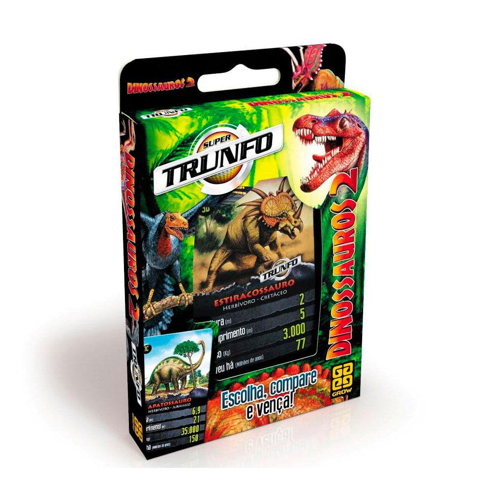 Super Trunfo - Dinossauros 2 - Grow