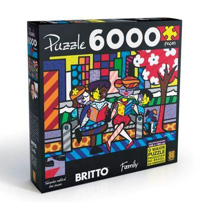 Quebra-Cabeca---Romero-Britto-Family---6000-Pecas---Grow-Embalagem
