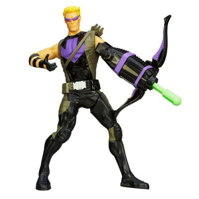 Boneco-The-Avengers---Mighty-Battlers---Hawkeye---15cm---Hasbro-2