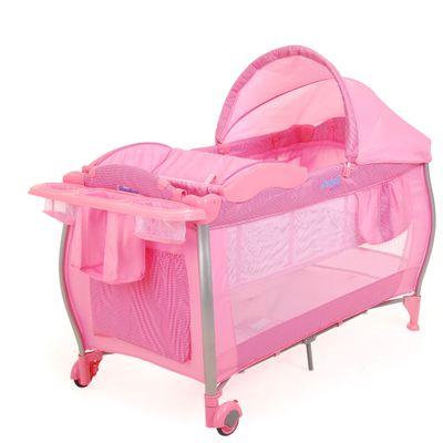 Berco-Portatil-Standard-Pink-Check---Burigotto