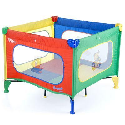 Berço Portátil com Mosquiteiro - Playground Básico - Burigotto