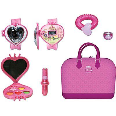 Bolsa-Itens-de-Beleza---Princesas-Disney---Relogio-e-Maquiagem---Yellow-2