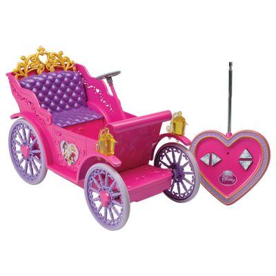 Carruagem Mágica com Controle Remoto - Princesas Disney - Candide