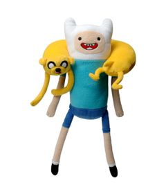 Pelucia-Interativa---Adventure-Time---Finn-e-Jake---Candide