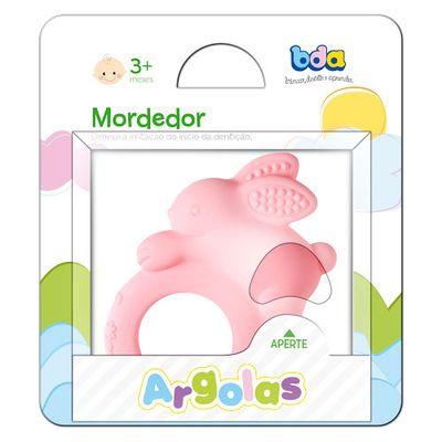 Mordedor Argola Coelho Rosa - Toyster