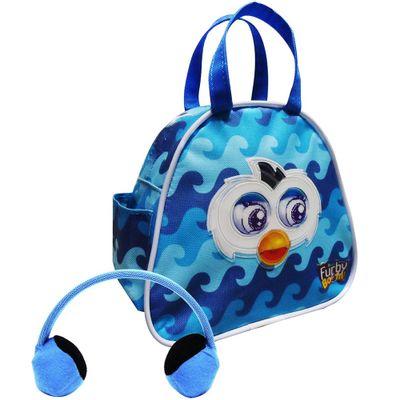 Bolsa-Fashion-para-Furby-com-Abafador-de-Ouvidos---Azul-com-ondas---Conthey