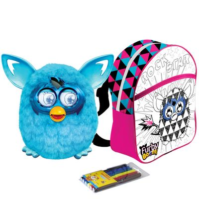 kit-pelucia-interativa-furby-boom-azul-favorito-hasbro-mochila-furby-para-colorir-rock-star-rosa