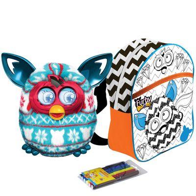 kit-pelucia-interativa-furby-boom-festive-sweater-hasbro-mochila-furby-para-colorir-rock-star-laranja