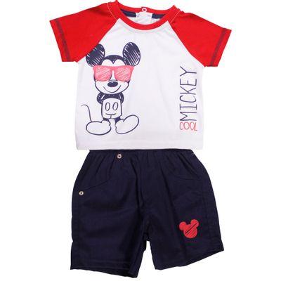 53853-Conjunto-Mickey---Meia-Malha-Sarja-Branco-e-Marinho---Disney-Conjunto