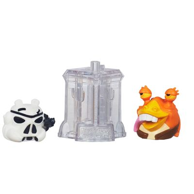 Telepods Angry Birds Star Wars - Stormtrooper e Jar Jar Binks - Hasbro