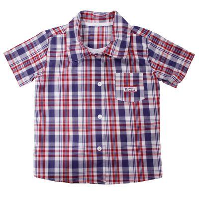 53902-Camiseta-Mickey---Tricoline-Xadrez-Branco---Disney-Fechado