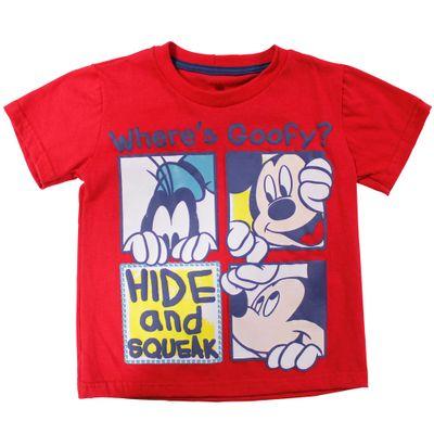 54241-Camiseta-Mickey---Meia-Malha-Vermelha---Disney