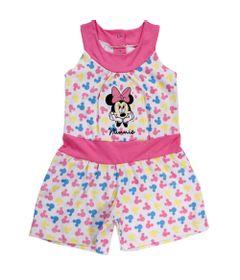 23836-Macaquinho-Minnie---Algodao-Branco---Disney-Frente