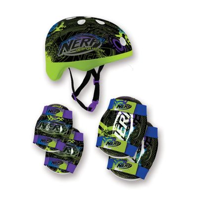 Kit-Capacete-e-Acessorios-Verde---Nerf---Conthey