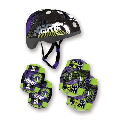 Kit-Capacete-e-Acessorios-Preto---Nerf---Conthey