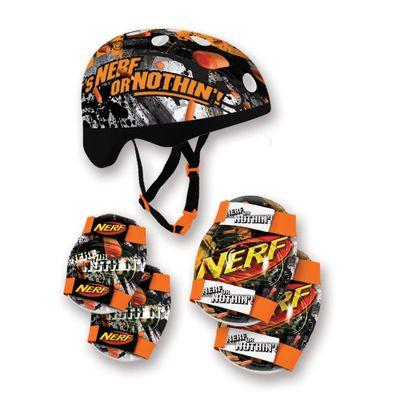 Kit-Capacete-e-Acessorios-laranja-e-Preto---Nerf---Conthey