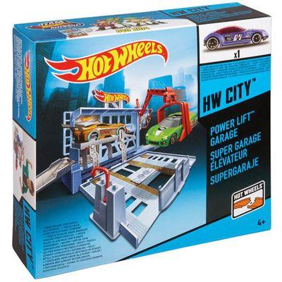 Pista Hot Wheels Desafios na Cidade - Garagem Oficina - Mattel