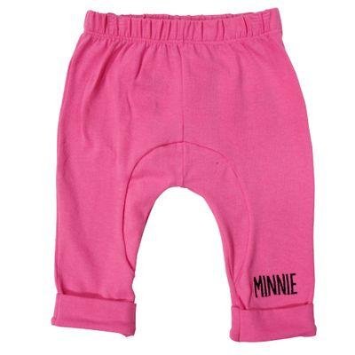 25826-Calca-Minnie---Algodao-e-Elastano-Rosa---Disney-Frente