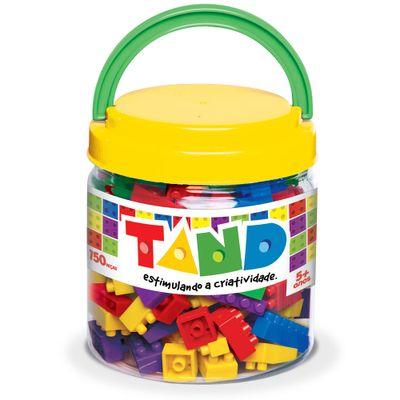 Pote com Blocos de Montar Tand Kids - 150 Peças - Toyster